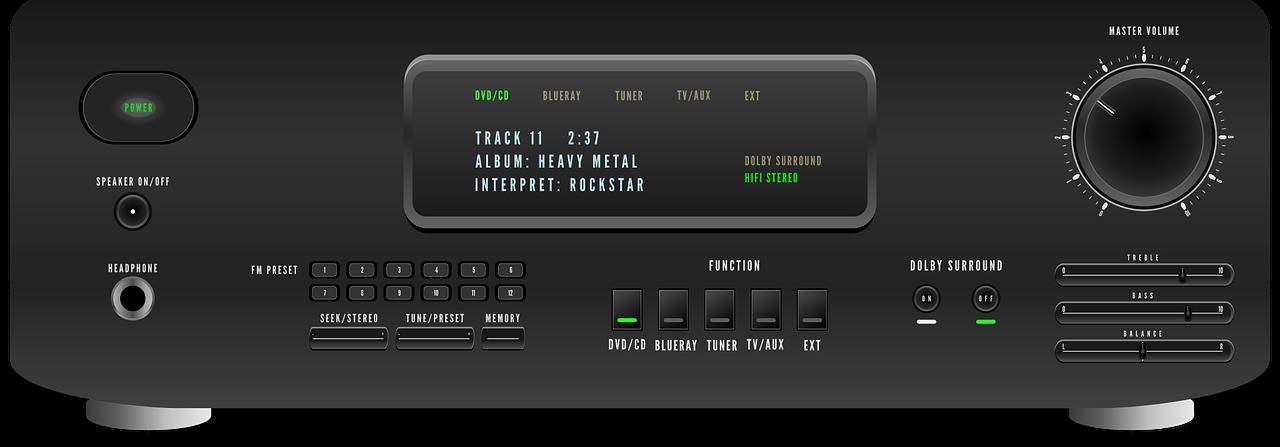 audio-receiver-1614069_1280